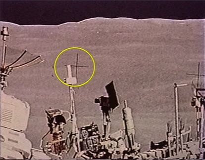 Moon Landing Hoax Crosshairs (page 4) - Pics about space